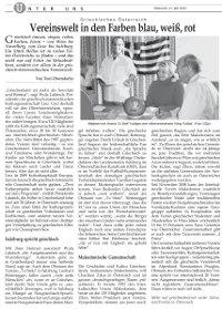 Griechenland Zeitung über TO STEKI